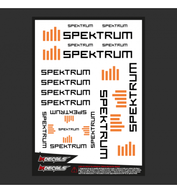 Sticker Sheet Spektrum