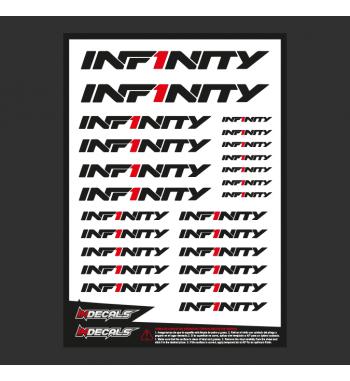 Sticker Sheet Infitiny