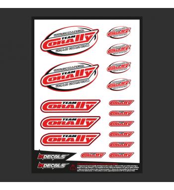 Sticker Sheet Team Corally