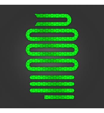Pegatinas Reflectantes Verdes