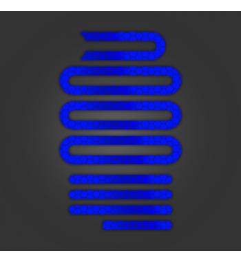 Pegatinas Reflectantes Azules