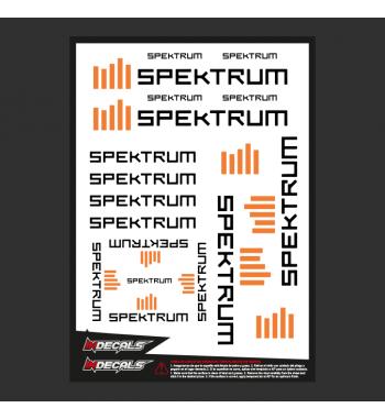 Sticker Sheet Spektrum