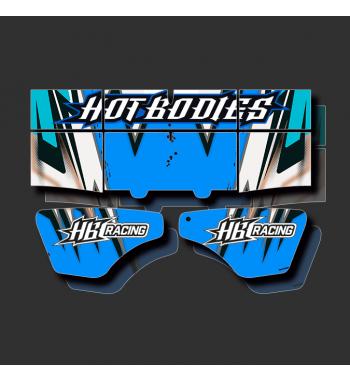 Custom Wing Stickers HotBodies
