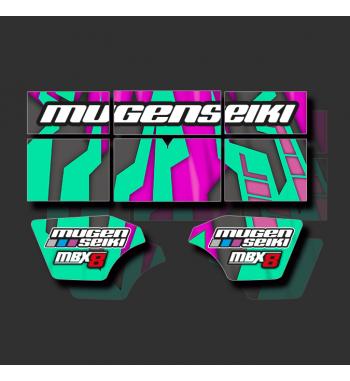 Custom Wing Stickers Mugen 8