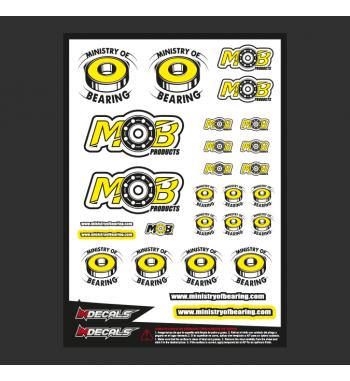 Sticker Sheet Ministry of Bearing