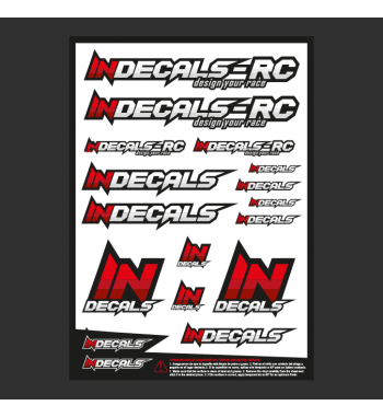 Sticker Sheet Indecals
