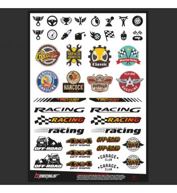 Crawler Sticker Sheet