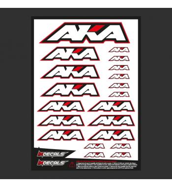 Sticker Sheet Aka