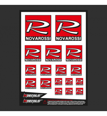 Sticker Sheet Novarossi