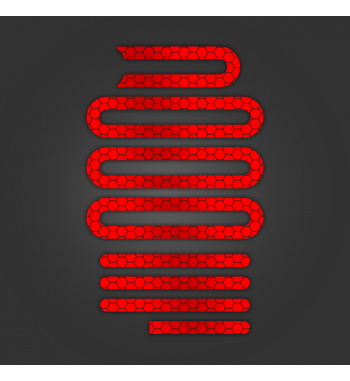 Red Reflective Stickers
