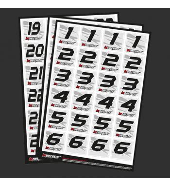 Dorsals sheet 24 pilots